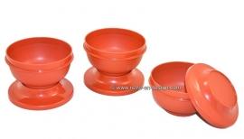 Vintage Tupperware bowls, stackable
