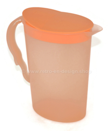Tupperware Impressions waterkan, schenkkan in zalm-oranje 2,1 liter