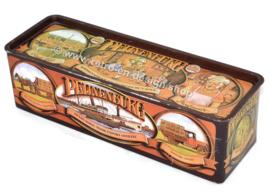 Rechteckige Vintage Blechdose für Lebkuchen von Peijnenburg, Jubiläumsausgabe