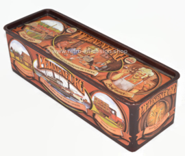 Rectangular vintage tin for gingerbread by Pijnenburg, anniversary edition