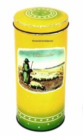 Retro-vintage lata bizcocho tostado, Bosscher Beschuit Zuidwolde