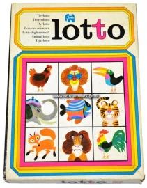 Animal lotto. Jumbo, 1970