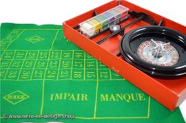 Vintage Roulette van Revanche-spelen uit 1960