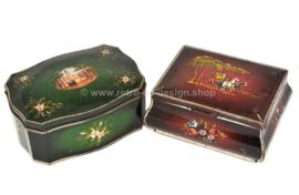 Set mit zwei Vintage Blechdosen von Douwe Egberts für Pickwick Tea