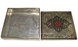 Boîte vintage avec impression en relief C.Jamin, NL Nergens Lekkerder