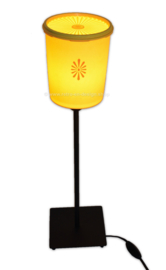 """Starburst"" Retro-Vintage Tupperware table lamp"