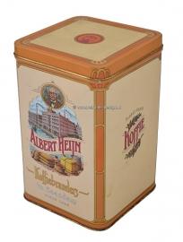 Vintage tin Albert Heijn Koffiebranders te Zaandam sinds 1895