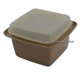 Pot de table Vintage Tupperware 60s / 70s pour garnitures de sandwich ou tartinades de pain