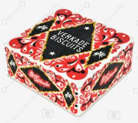 Boîte rectangulaire vintage pour biscuits mixtes de Verkade