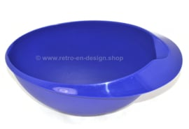 Tazón vintage Tupperware Quick mix en azul