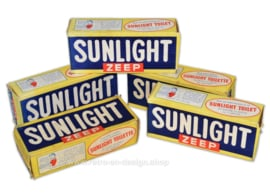 Genuine original Sunlight soap in vintage packaging