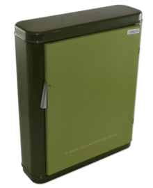 Vintage groen Brabantia medicijnkastje of badkamerkastje