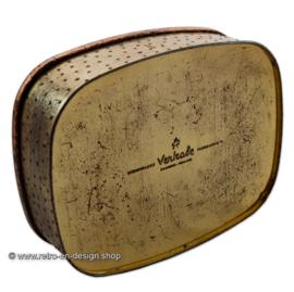 Vintage tin by Verkade. Semper Servat Virtvtem