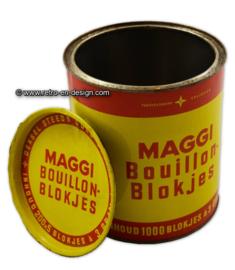 Gran vintage lata Maggi bouillon-blokjes - cubos de caldo