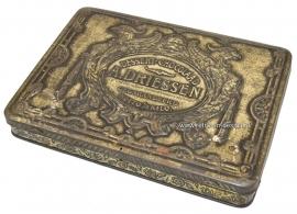 Old Vintage tin A. Driessen, Dessert-Chocolaad 1920s - 1930s