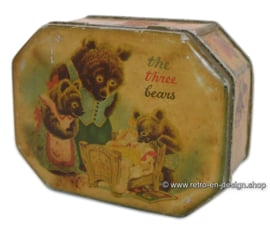 "Vintage Blechdose ""The Three Bears"" 1940er"