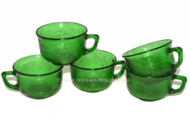 Arcoroc Sierra glass cup, green.