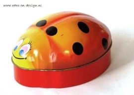Tin box ladybug