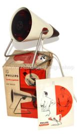 Lámpara de calor infrarroja Vintage Philips Infraphil 3603