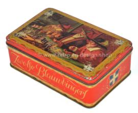 Vintage koektrommel voor Zwolse blauwvingers, 1925 - 1952