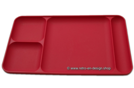 Vintage Tupperware divided serving tray