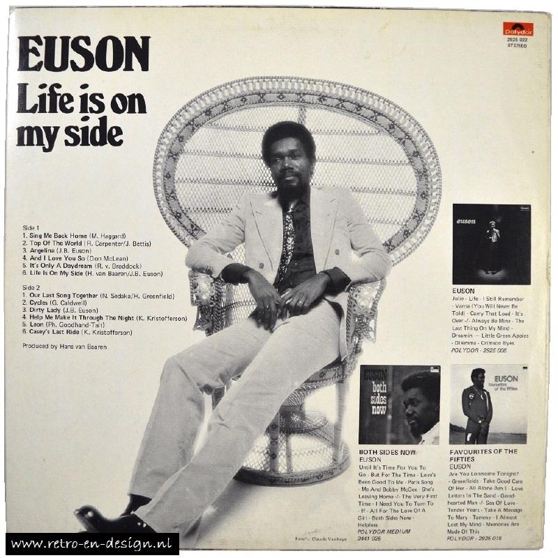 Euson Life Is On My Side Lp Vinyl And Audio Retro