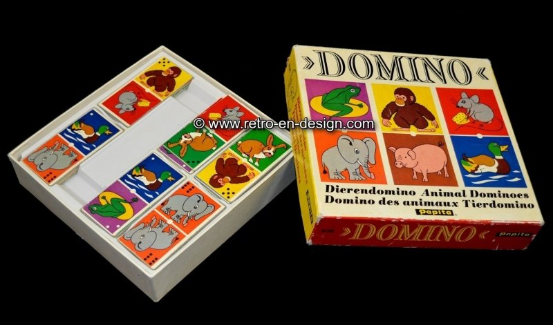 Papita Animal Dominoes 1975