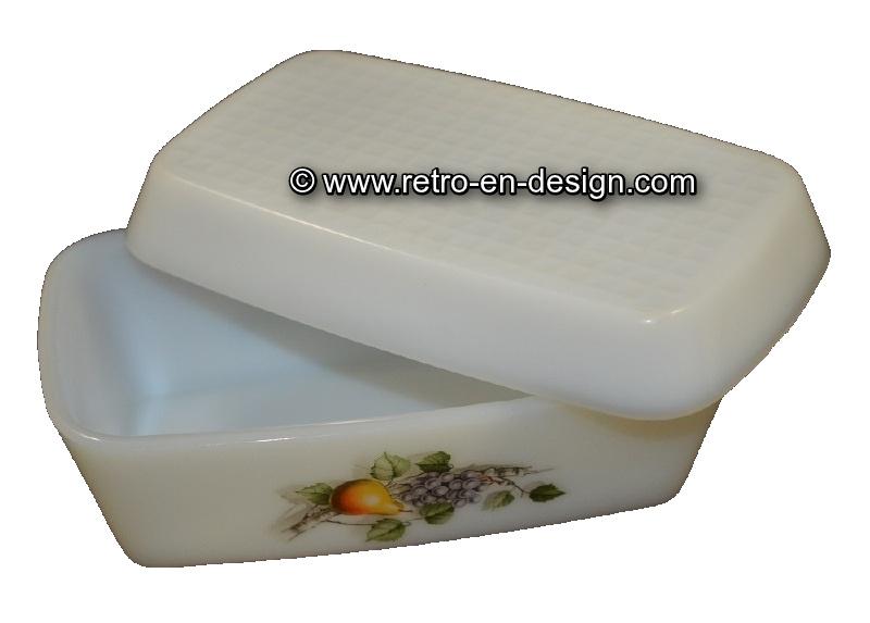 Bateau de beurre Arcopal, Fruits de France