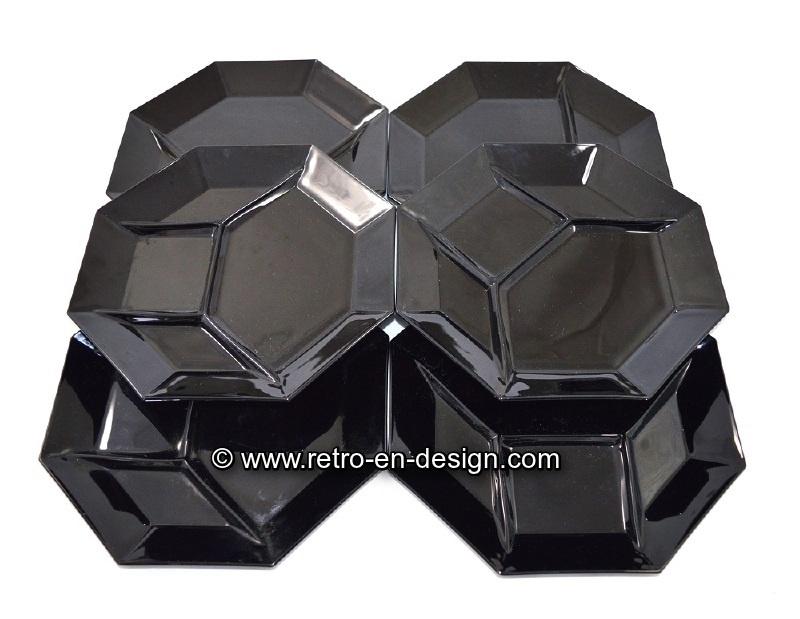 Fonduebord, Hors d'oeuvre, mixed grill. Arcoroc France, Octime Ø 25 cm