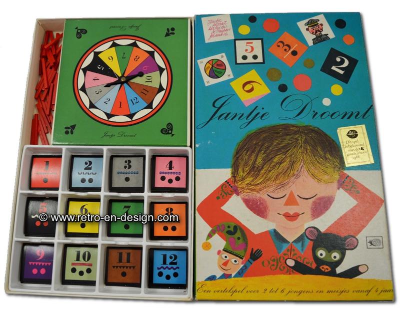 Uitgelezene Vintage spel Jantje droomt uit 1965. Egelspelen nr. 125   VERKOCHT TR-58