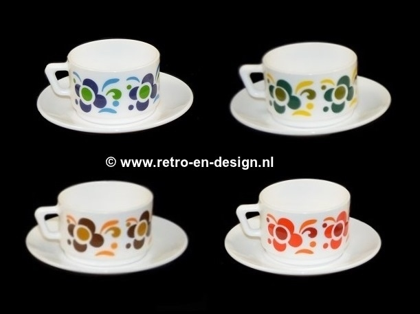 Arcopal France 'Knorr' cup and saucer