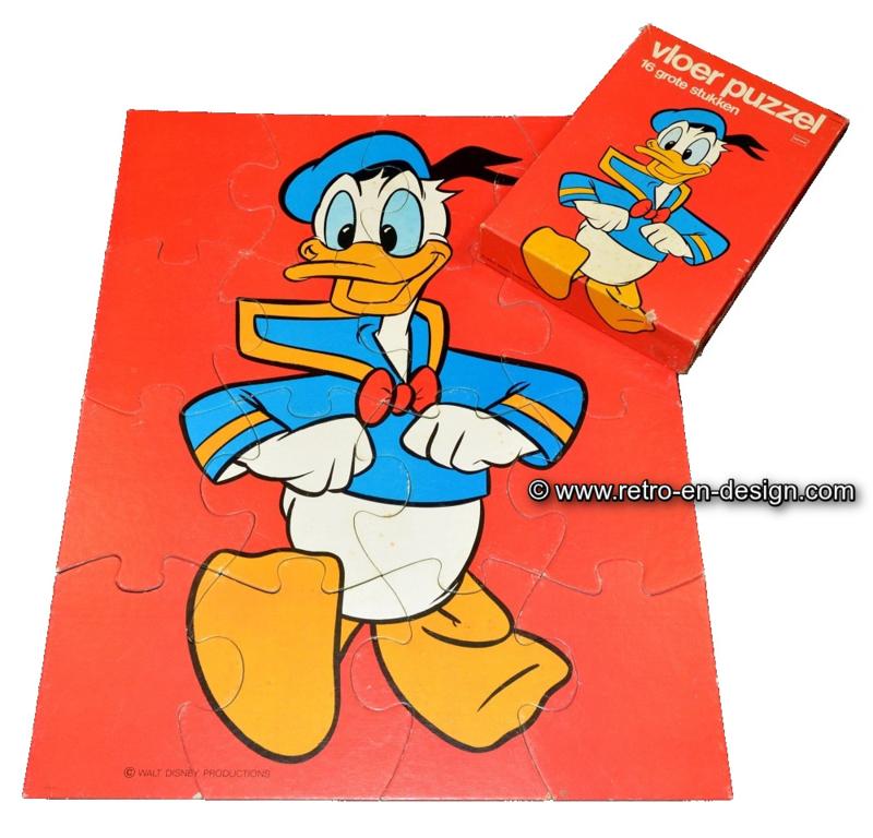 Walt Disney's Donald Duck vloer puzzel