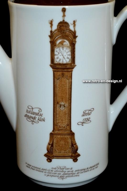 Koffiepot Klokkenservies Nutroma, Mitterteich