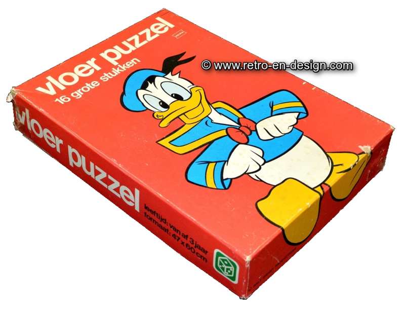 Walt Disney's Donald Duck, Rompecabeza de suelo