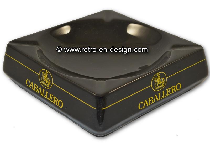 Cendrier Caballero en céramique Vintage