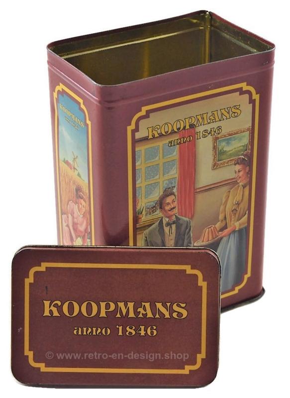 Retro blik Koopmans anno 1846