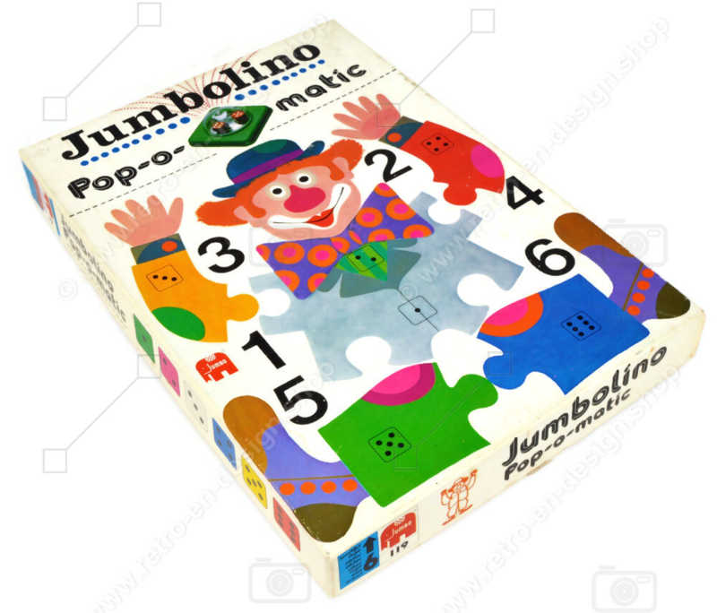 Jumbolino Pop-O-Matic • Jumbo (Hausemann & Hötte) • 1974