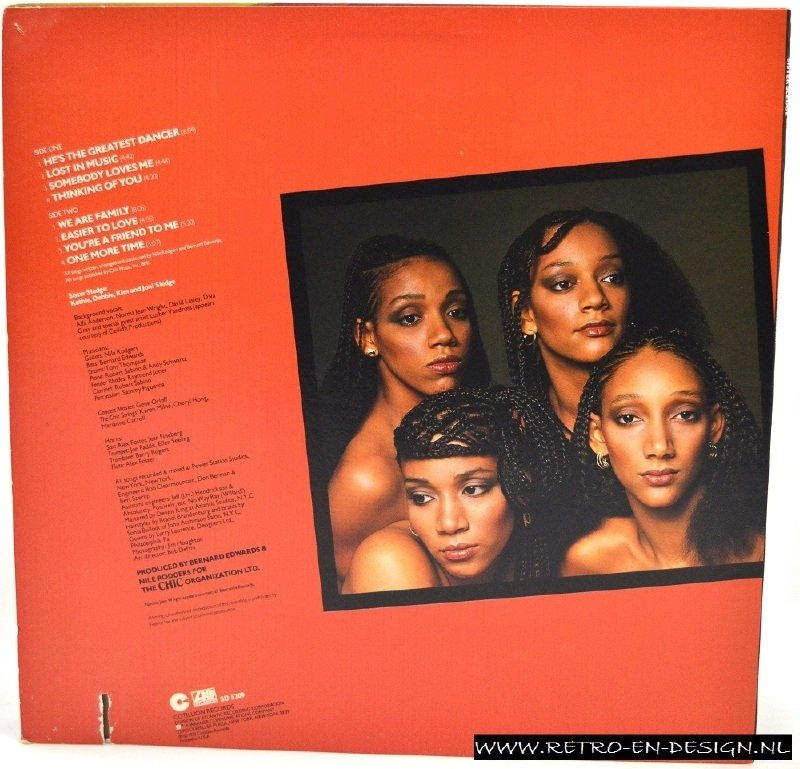 Sister Sledge -  We are Family (LP)