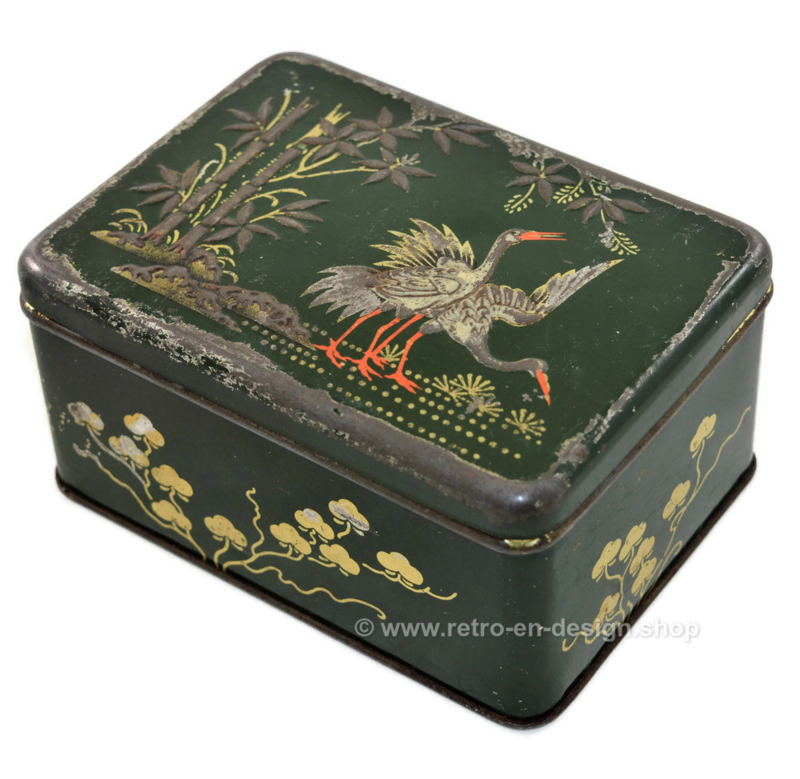 Vintage tea tin by Kanis & Gunnink