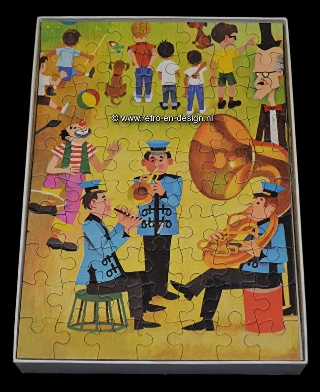 Jumbo Puzzle 70 pieces