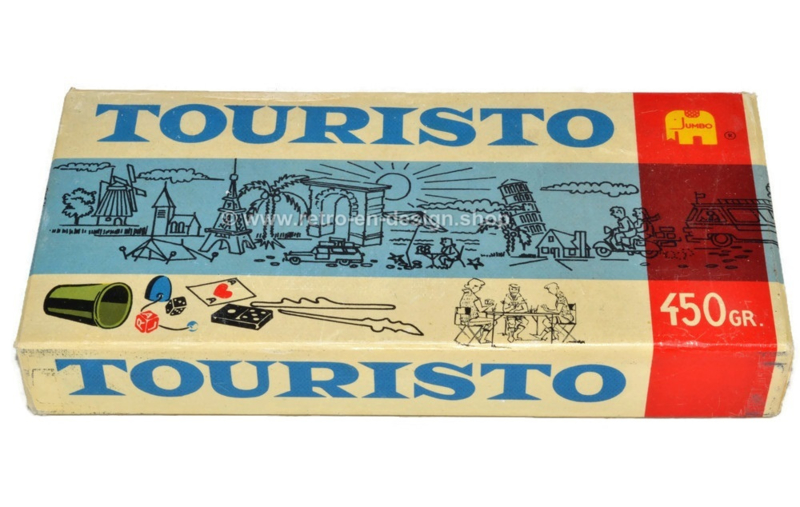 Touristo, vintage boîte de jeu de Jumbo