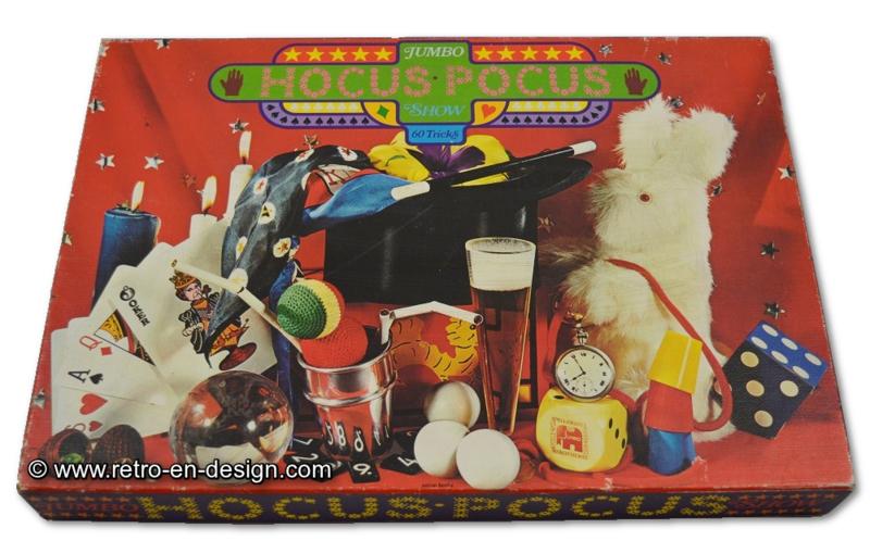 Jumbo Hocus Pocus Show 60 tricks • Jumbo • 1971 Goocheldoos