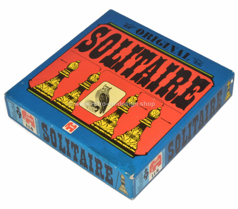 Vintage game Original Solitair by Jumbo games from 1973