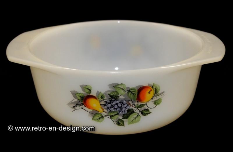 Arcopal France, round casserole, Fruit de France Ø 16,5 cm