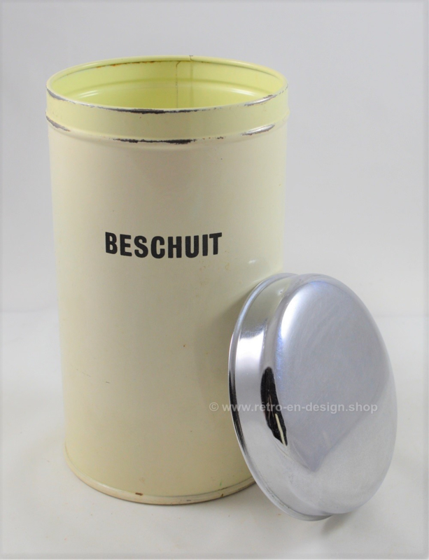 Vintage rusk tin by Brabantia Home Steel