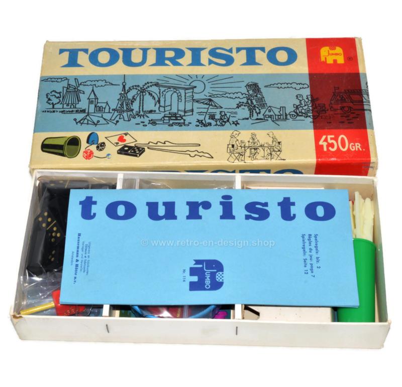 Touristo, vintage Jumbo Spielekiste