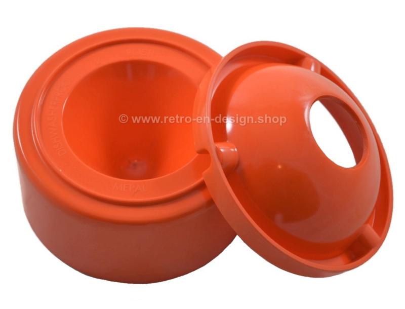 Orange melamine ashtray by Rösti Mepal
