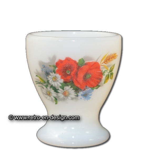 Arcopal eierdopjes Fleurs de Champêtre / veldbloemen