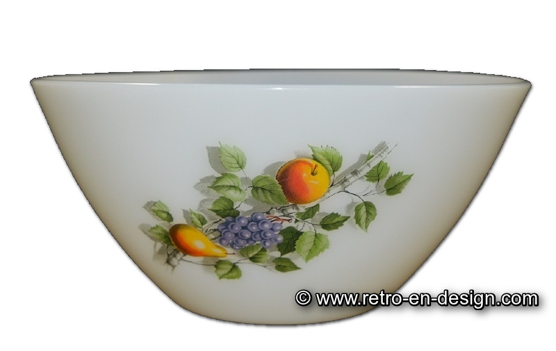 Arcopal bowl Fruits de France