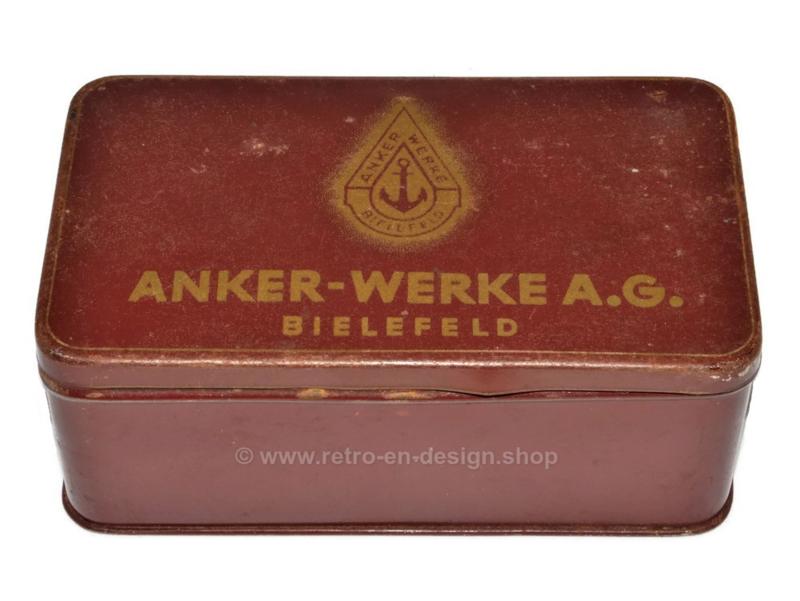 Blikken trommel voor naaimachine onderdelen van Anker